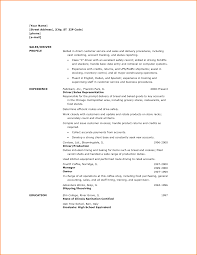 sample resume for truck driver resume samples and resume help