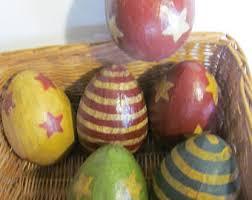 primitive easter eggs primitive easter etsy