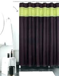 Green And Brown Shower Curtains Green And Brown Curtains Lime Green Shower Curtain Popular Of