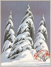 eyvind earle christmas cards eyvind earle christmas card vintage christmas seasonal cards