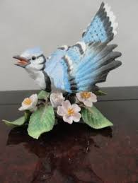 lenox china annual garden birds blue bird figurines