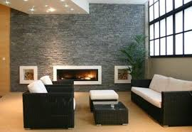 Stone Wall Tiles For Living Room Living Room Wonderful Living Room Decoration Using Twin White