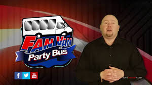 fan van party bus party with the fan van party bus immortal seats youtube