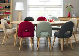 Funky Fabric Dining Chairs  Sfcloudserviceco - Retro dining room