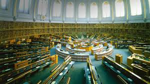reading room of the french national library europe