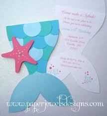 mermaid birthday invitations mermaid birthday invitations for