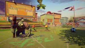 plants vs zombies garden warfare 2 backyard battleground flag