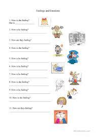 5 free esl emotions worksheet worksheets