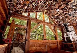 salvaged wood salvaged wood tree house 2 webecoist