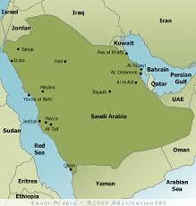 middle east map medina saudi arabia map