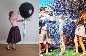gender reveal balloons pop gender reveal balloon 36 inch 3 balloon reveal