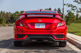 exhaust notes 2017 honda civic si coupe canadian auto review