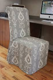 furniture nice white parsons chair slipcovers design ideas for