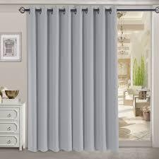 Blackout Patio Door Curtains Decorating Rhf Thermal Insulated Blackout Patio Door Curtain