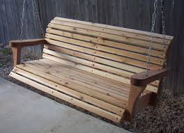 classic cedar porch swing