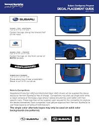 logo subaru png vermont sportscar subaru contingency program