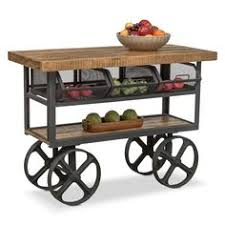 industrial iron wood kitchen trolley natural black buy kitchen nico industrial rolling kitchen cart with iron basket storage wish