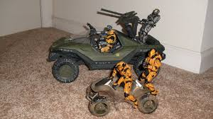 halo warthog toy review halo reach warthog vehicle toy review daily