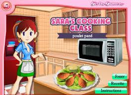 jeux de cuisine de jeu poulet cuit au four