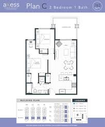 2 Bedroom Condo Floor Plan Condos Downtown Currie Mount Royal University