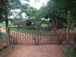 kauai gems copper bamboo entry gate