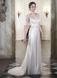 20 deco wedding dress with gatsby deco wedding