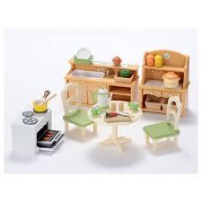 sylvanian families cuisine sylvanian families set cuisine dumong la maison des jouets