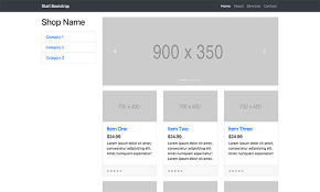 bootstrap templates for mvc 4 shop homepage bootstrap ecommerce store template start bootstrap