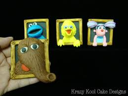 sesame cake toppers 106 best sesame party images on sesame streets