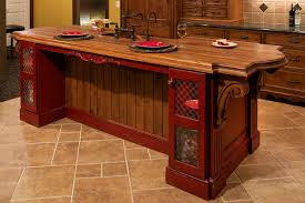 wood tops for kitchen islands kitchen design and decoration by using rectangular dark red wood