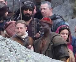 Knights Of The Round Table Names Charlie Hunnam Shoots Scenes For Knights Of The Roundtable King