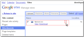 adding favicon in google sites free google sites resources