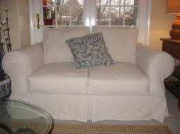 slipcovers for sofas with loose cushions decoration spruce up your ikea klippan sofa cover in a loose