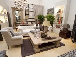 accessories french country chandelier with white tufted sofa and