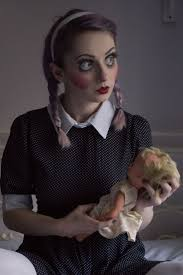 Scary Halloween Looks The 25 Best Doll Halloween Costumes Ideas On Pinterest Creepy