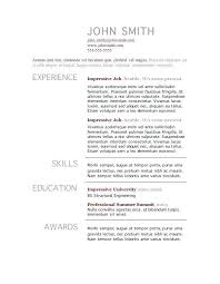 basic resume examples for jobs efficiencyexperts us