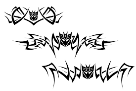 decepticon tribal tattoos by bee930 on deviantart