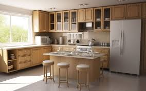 plan cuisine idee ilot central cuisine cuisine ikea meubles ide lot central bois