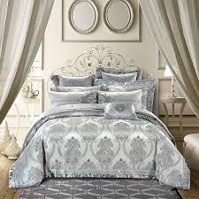 Royal Bedding Sets Gold Silver Color Luxury Royal Bedding Sets 4 6 9pcs King