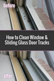 Sliding Patio Door Track by How To Clean Window Tracks Step By Step With Photos Mifabuloso Ad