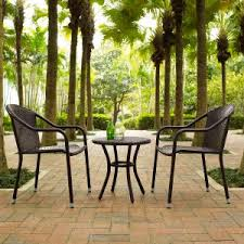 Outside Bistro Table Outdoor Bistro Sets On Hayneedle Outdoor Bistro Table Set