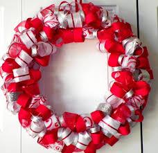 ribbon wreath ribbon wreaths christmas loopy glitter ribbon wreath 3