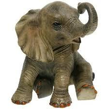 beautiful leonardo out of africa baby elephant ornament figurine