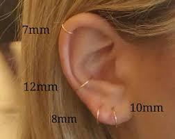 cartilage hoops cartilage hoop etsy