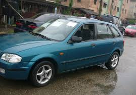 mazda 323f mazda 323f for cheap sales clean in and out autos nigeria