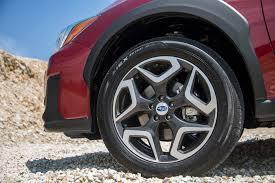 subaru crosstrek off road tires 2018 subaru crosstrek first drive review automobile magazine