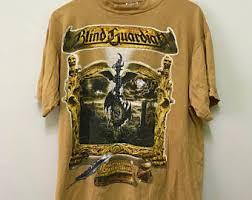 Blind Guardian Shirts Vintage Blind Tee Etsy