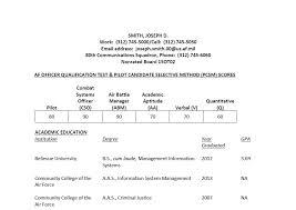 ots applicant profile air force journey