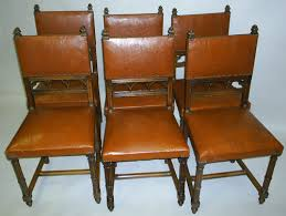 Antique Dining Chairs Set Of 6 French Antique Dining Chairs In The Gothic Style