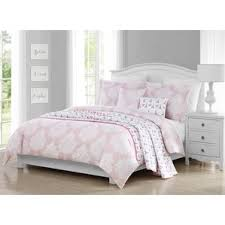 Pink And Grey Comforter Set Kids U0027 Comforter Sets You U0027ll Love Wayfair